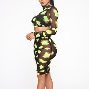 mesh two piece- brand new